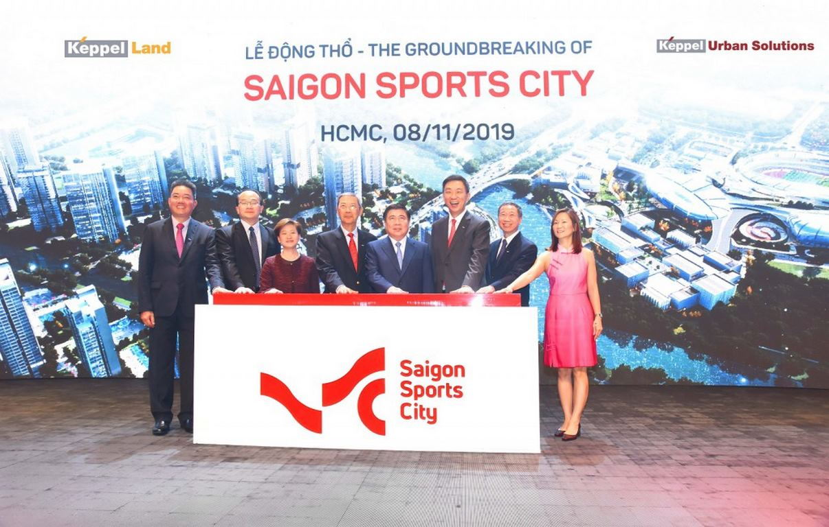 khoi cong du an saigon sports city