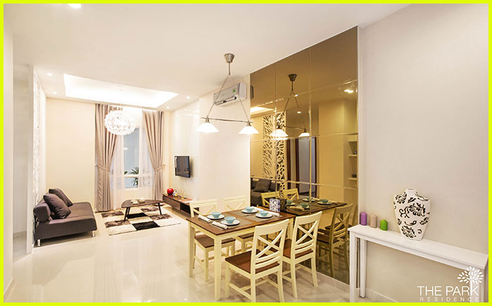 phong khach the park residence