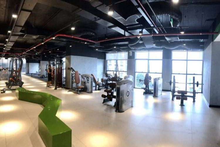 phong tap gym can ho the sun avenue